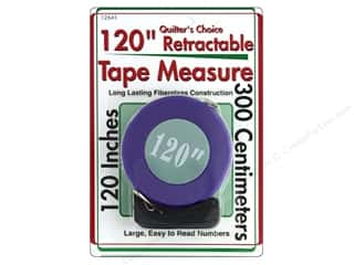 Sullivans Quilt Shop Tape Measure 120 in.  Retractable