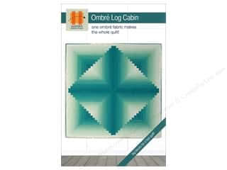 books & patterns: Hunter's Design Studio Ombre Log Cabin Pattern
