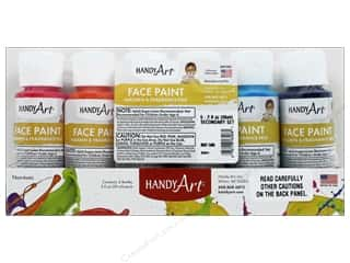 Handy Art Face Paint Set 2 oz Secondary 6 pc