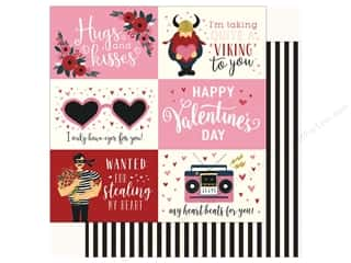 Carta Bella Collection Hello Sweetheart Paper 12 in. x 12 in. Journal Card 4 in. x 6 in. (25 pieces)