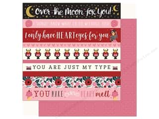 Carta Bella Collection Hello Sweetheart Paper 12 in. x 12 in. Border Strip (25 pieces)
