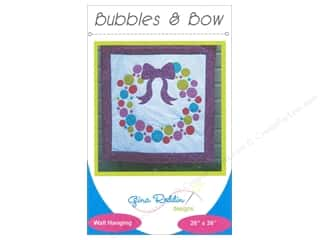 books & patterns: Gina Reddin Designs Bubbles & Bow Pattern