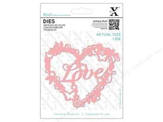 Clearance: Docrafts Xcut Die Love Heart