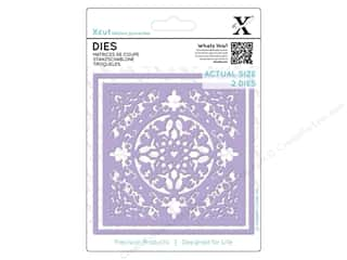 dies: Docrafts Xcut Die Ornate Tile