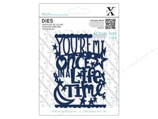 Clearance: Docrafts Xcut Die Once In A Lifetime