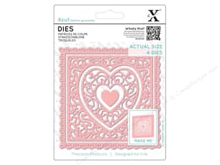 die cutting machines: Docrafts Xcut Die Heart Frames