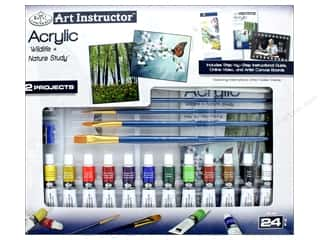 projects & kits: Royal Set Art Instructor Acrylic Paint