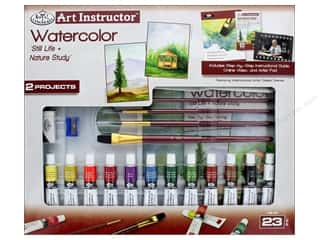 craft & hobbies: Royal Set Art Instructor Water Color Paint