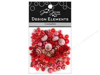 Jesse James Bead Design Element Grenadine
