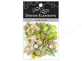beading & jewelry making supplies: Jesse James Bead Design Element Golden Lime