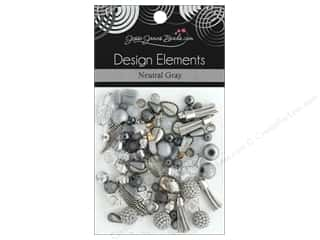 Jesse James Bead Design Element Neutral Gray