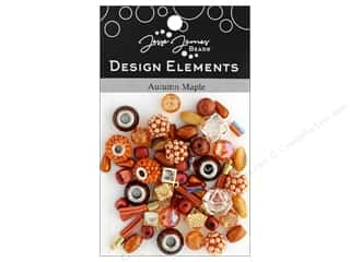 beading & jewelry making supplies: Jesse James Bead Design Element Autumn Maple