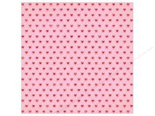 Clearance: Crate Paper Collection Main Squeeze Paper 12 in. x 12 in. Glitter Heartbeat (15 pieces)