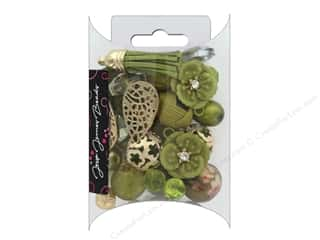 beading & jewelry making supplies: Jesse James Bead Inspirations Golden Lime