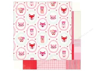 Clearance: Crate Paper Collection Main Squeeze Paper 12 in. x 12 in. Cutie (25 pieces)