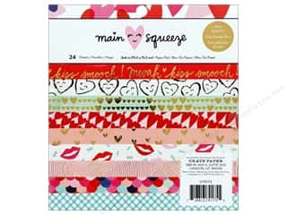Clearance: Crate Paper Collection Main Squeeze Paper Pad 6 in. x 6 in.