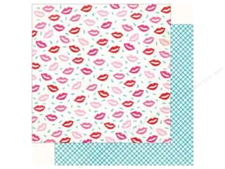 Clearance: Crate Paper Collection Main Squeeze Paper 12 in. x 12 in. Smooch (25 pieces)