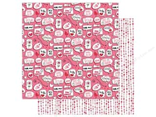 twine: Photo Play Love Notes Paper 12 in. x 12 in.  Swoon (25 pieces)