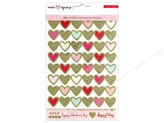 stickers: Crate Paper Main Squeeze Sticker Waterfall Glitter Gold