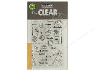 scrapbooking & paper crafts: Hero Arts Poly Clear Stamp We Go Together