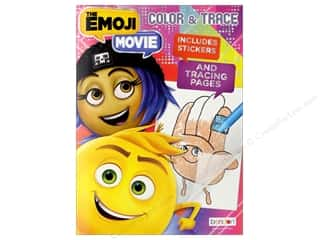 Bendon Color & Trace Book Emoji Movie