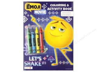 Bendon Coloring & Activity Book With Crayons Emoji Movie