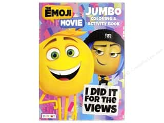 Bendon Jumbo Coloring & Activity Book Emoji Movie
