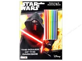Bendon Coloring & Activity Book With Markers Star Wars The Power of the Darkside