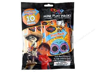 Bendon Coloring Book Play Pack 10 pc Mini Coco