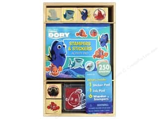 stamps: Bendon Wood Stamp Activity Pad Finding Dory