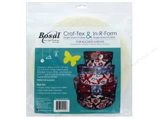 Bosal Interfacing Shape Craft-Tex And In-R-Form Buckets And Bows Circles