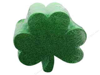 craft & hobbies: Darice Foamies Base St Patrick's Shamrocks 36 pc