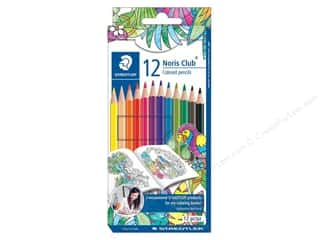 colored pencils: Staedtler Noris Club Colored Pencils 12 pc
