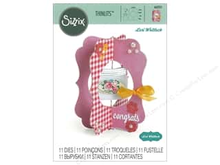 dies: Sizzix Dies Lori Whitlock Thinlits Jar Card