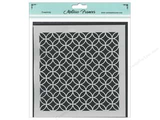 craft & hobbies: Melissa Frances Stencil 6 x 6 in. Circles