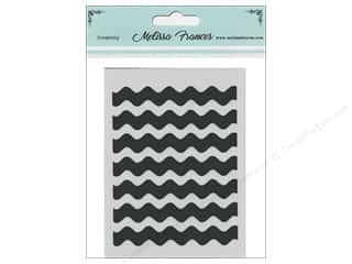 craft & hobbies: Melissa Frances Stencil 3 x 4 in. Zig Zag