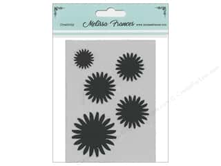 craft & hobbies: Melissa Frances Stencil 3 x 4 in. Sun Burst