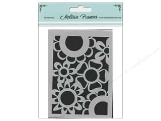 scrapbooking & paper crafts: Melissa Frances Stencil 3 x 4 in. Flower Power 2