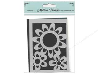 scrapbooking & paper crafts: Melissa Frances Stencil 3 x 4 in. Flower Power 1
