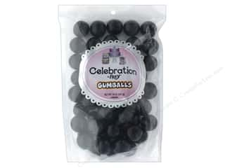 SweetWorks Celebration Gumballs 14 oz Stand Up Bag Black
