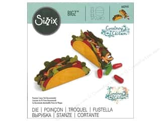 dies: Sizzix Dies Courtney Chilson Bigz Mini Taco Box