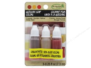 Life Of The Party Glycerin Colors .75 oz Copper/Golden Yellow/Deep Red