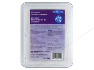 craft & hobbies: Life Of The Party Soap Base Glycerin 5 lb. Lavender