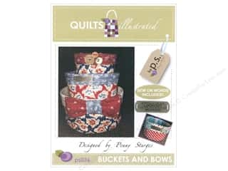 books & patterns: Quilts Illustrated Buckets and Bows Pattern