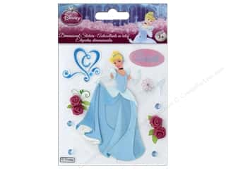 scrapbooking & paper crafts: EK Disney Sticker 3D Princess Cinderella