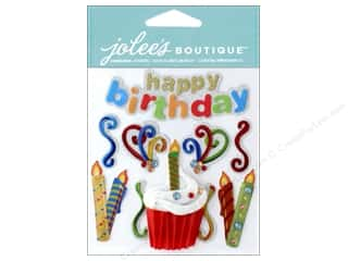 scrapbooking & paper crafts: Jolee's Boutique Stickers Happy Birthday
