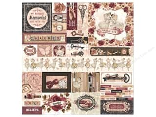 scrapbooking & paper crafts: Bo Bunny Collection Charmed Sticker Combo