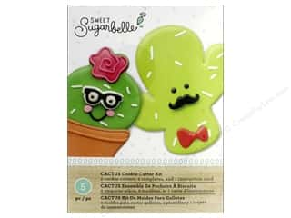Clearance: American Crafts Sweet Sugarbelle Cookie Cutter Kit Cactus