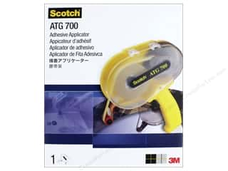 glues, adhesives & tapes: Scotch Adhesive Transfer Tape ATG 700 Dispenser