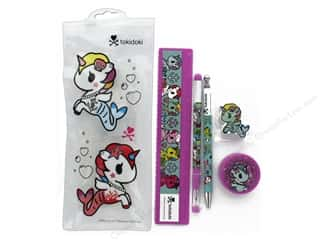 ruler: Blueprint Books Tokidoki Mermicorno Stationery Set